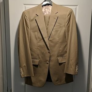 Olive 39L Jos A Bank Mens Suit 33W